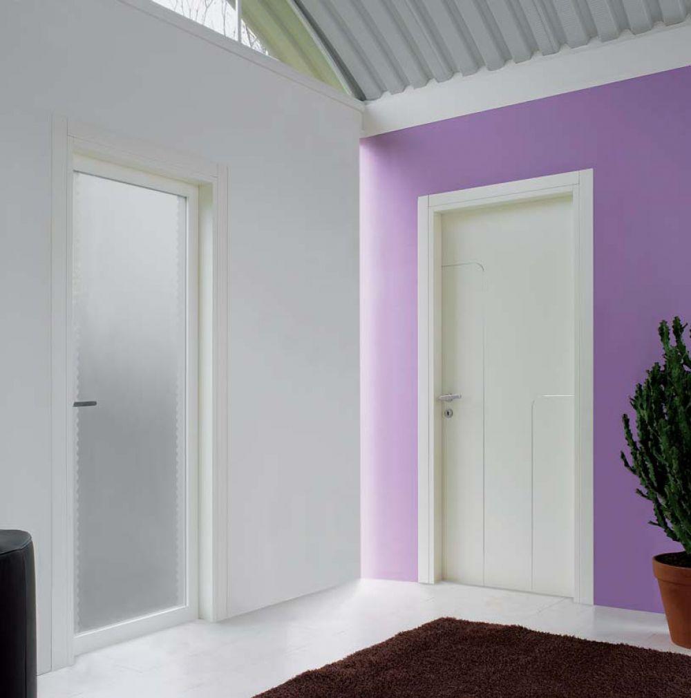 porte interne in vetro e legno di top design per ambienti moderni - Design Della Porta In Legno Moderno Con Vetro