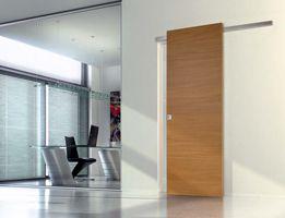Porte interne scorrevoli porte scorrevoli in vetro e legno per interni - Porta scorrevole esterna muro ...