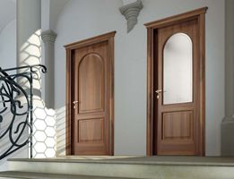 Magistra - Porte classiche in legno e vetro