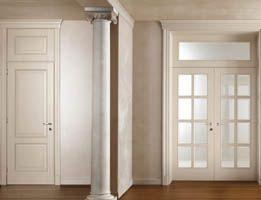 Porte in vetro e legno  Porte interne con vetro satinato, vetro sabbiato