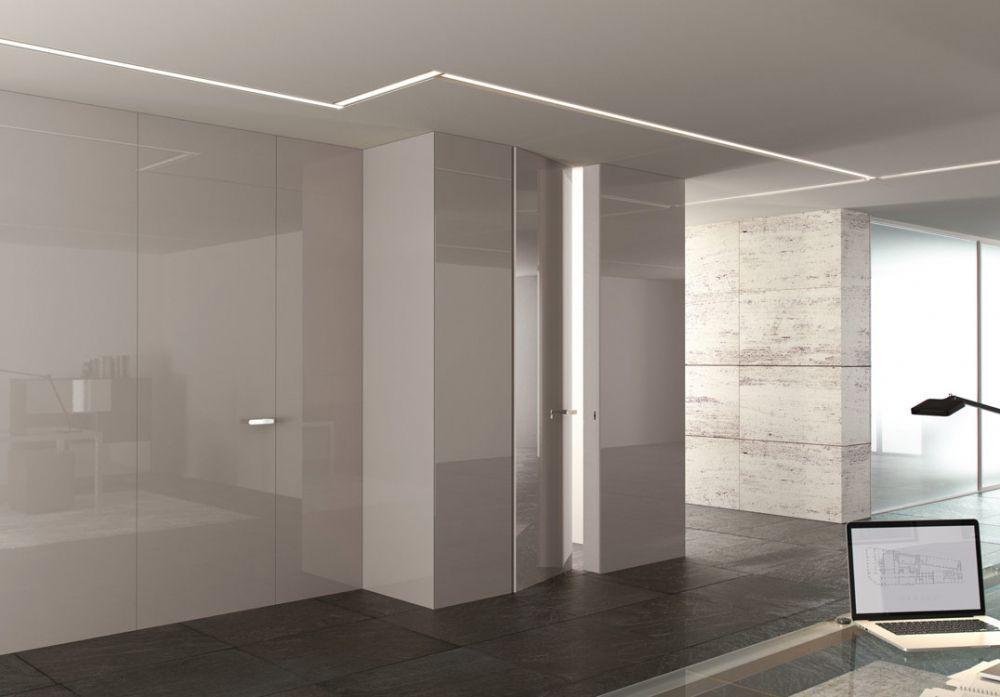 Porte In Legno Moderne: Porte interne in vetro e legno di ...