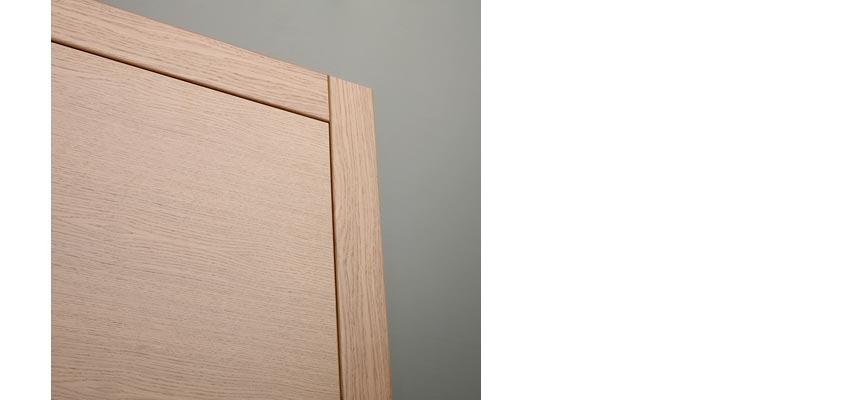 Finiture porte interne finiture in legno di rovere ciliegio castagno mogano - Stipiti porte interne ...