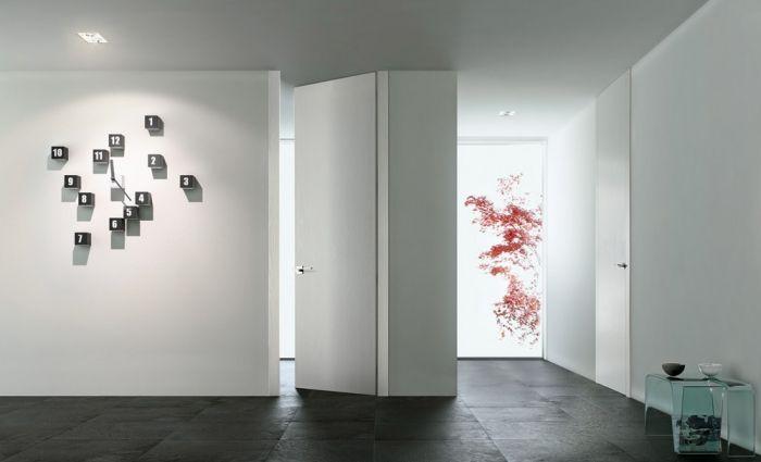 Porte in legno e vetro porte con vetro di interior design - Porte in vetro design ...