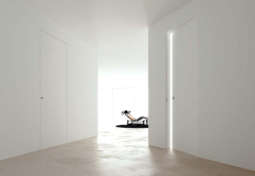 Linear Zero - Porta interna a filo muro