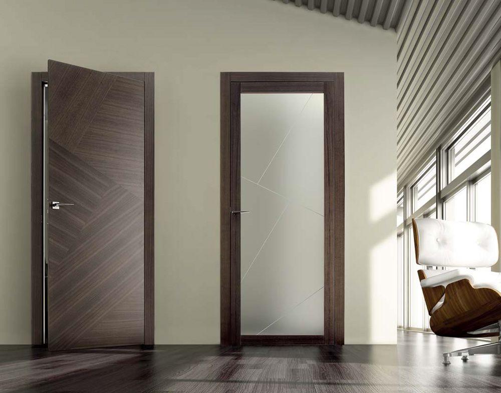 Porte a battente in legno e vetro | Rio CN e Spazio