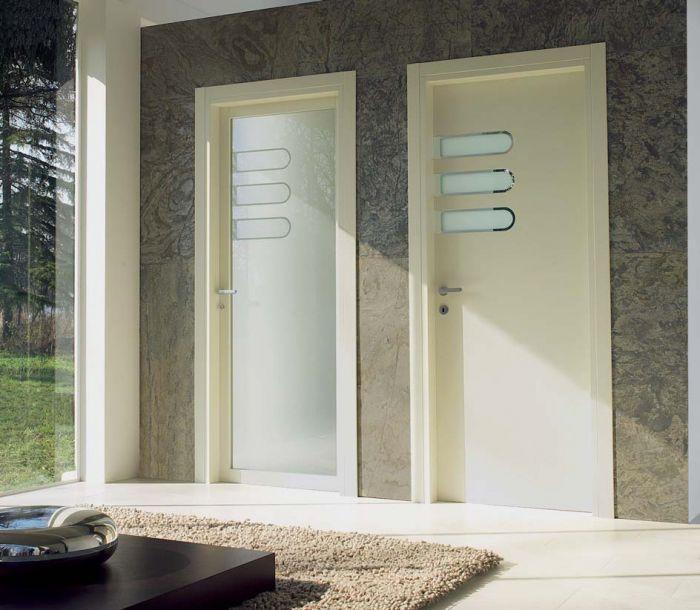 Spazio - Porte per interni in legno e vetro