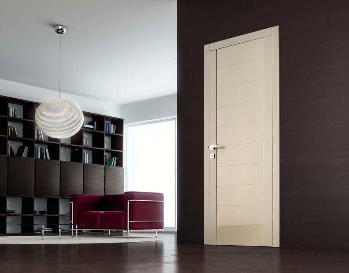Glitter 9 - Porta per interni in legno laccato