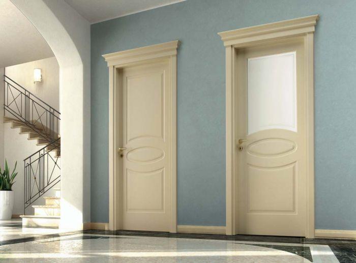 D3E - Porte classiche in legno e vetro