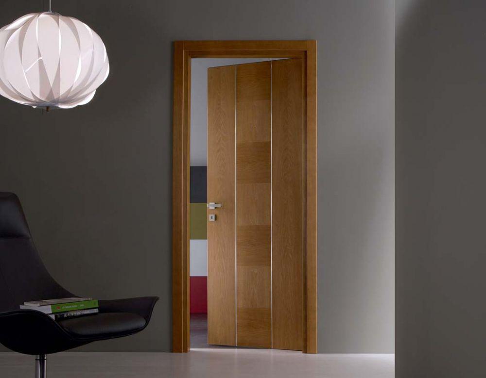 Dada - Porta per interni in legno di castagno