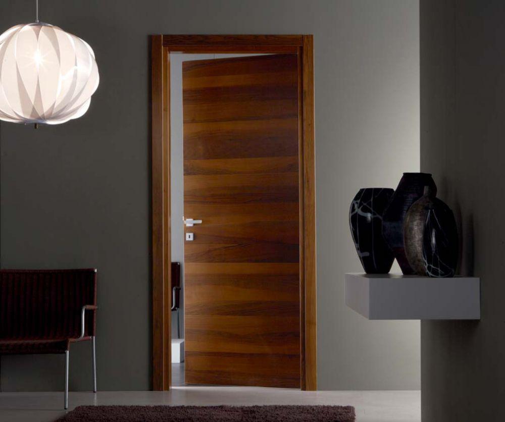 Strato - Porta per interni in legno noce