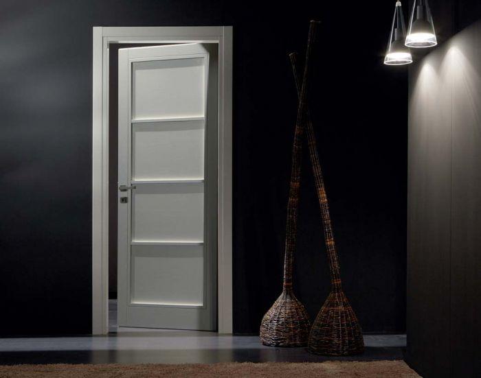Stella - Porta per interni in legno di frassino
