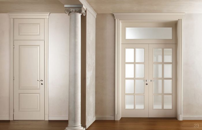 Interni Case Stile Inglese : Porte in legno classiche per interni porte interne in legno in