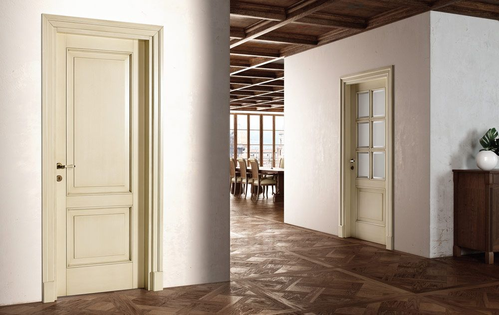 porte battenti classiche in vetro e legno firenze e arno 6f