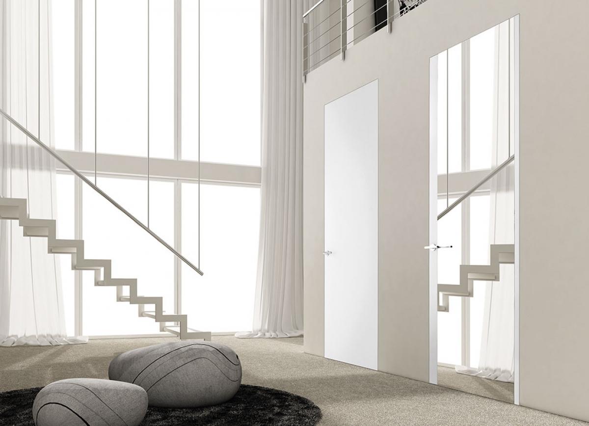 Linear Mirror Zero - porte interne filo muro